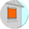 Fenstermarkise Senkrecht