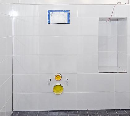 WC-runko koteloituna